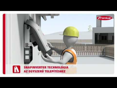 FRONIUS INVERTER Solar Pecs Napelem
