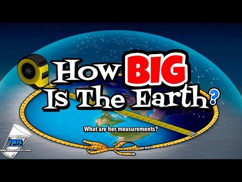 Flat Earth - How BIG Is Earth? Earth's True Form & Magnitude