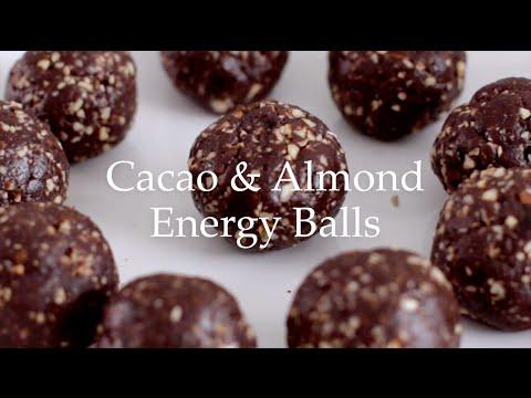 Deliciously Ella - Cacao & Almond Energy Balls