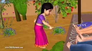 Repeat youtube video Kalla gajja kankalamma - 3D Animation Telugu Nursery Rhymes for children