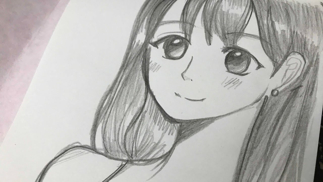 Manga Girl Pencil