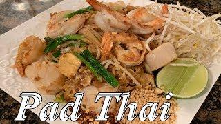 Pad Thai - How to make the best Pad Thai - Seafood Pad Thai Recipe - English Version.