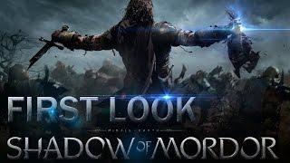 Middle-earth: Shadow of Mordor [LOTR] - First Look/Gameplay [PC]
