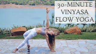 Video 30-MINUTE VINYASA FLOW   Intermediate Level Yoga   CAT MEFFAN download MP3, 3GP, MP4, WEBM, AVI, FLV Maret 2018