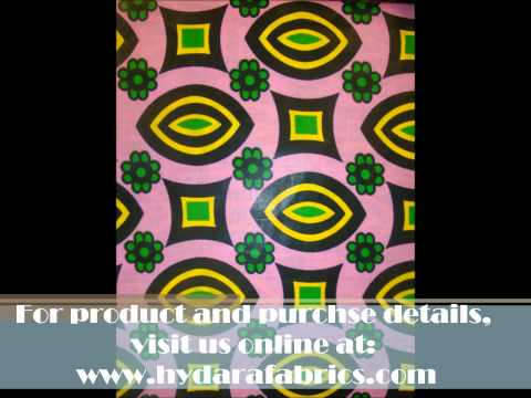 Hydara Fabrics - New Wax Prints and African Fabrics and Laces!