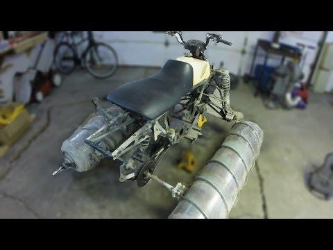 Amphibious Screw Drive ATV Project - Part 1 - Tear Down!