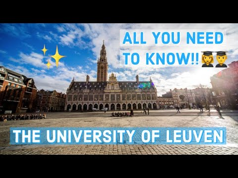 STUDYING (ABROAD) AT UNIVERSITY IN BELGIUM// KU LEUVEN// APPLICATION, CLASSES, COST OF LIFE & MORE!!