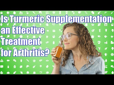 Is Turmeric Supplementation an Effective Treatment for Arthritis?