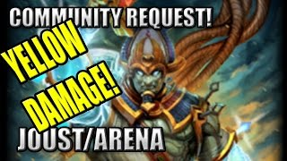 "Osiris Yellow Damage Build ""Community Request! - What even is this?!"" - Joust/Arena, SMITE Season 3"