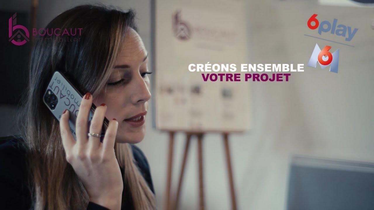 Boucaut Immobilier - Publicité M6 Replay