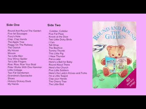 Round And Round The Garden (1987) Cassette - 40 Nursery songs