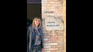 """Alessandra Mussolini: """"Riapriremo la cripta del Duce a predappio. L'Anpi è meglio che stia zitta"""""""