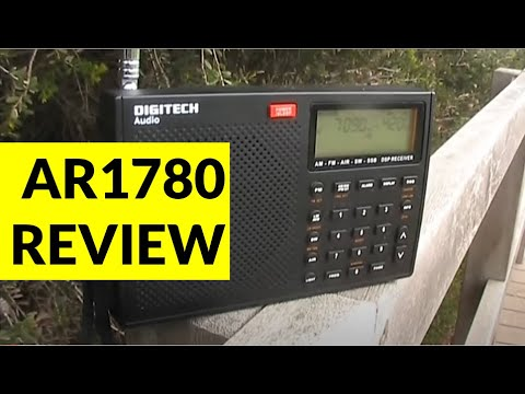 Review: Digitech AR1780 portable HF SSB receiver
