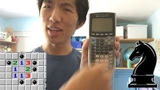 Minesweeper on my calculator, plus a Knightsweeper world record