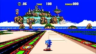 Sonic the Hedgehog CD [opening/ending with vocals] {All 7 Emeralds} (PSN/PS3) #58 LongPlay HD