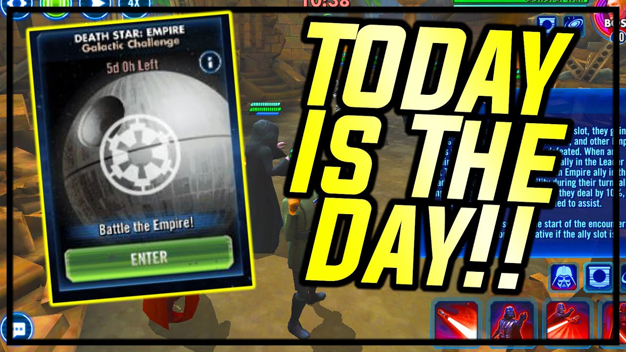 GALACTIC CHALLENGES DAY!! NEW CONTENT IS HERE FAM!   Star Wars: Galaxy of Heroes