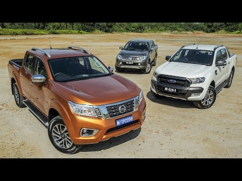 DRIVEN 2015 #5: Nissan Navara vs Ford Ranger vs Mitsubishi ...