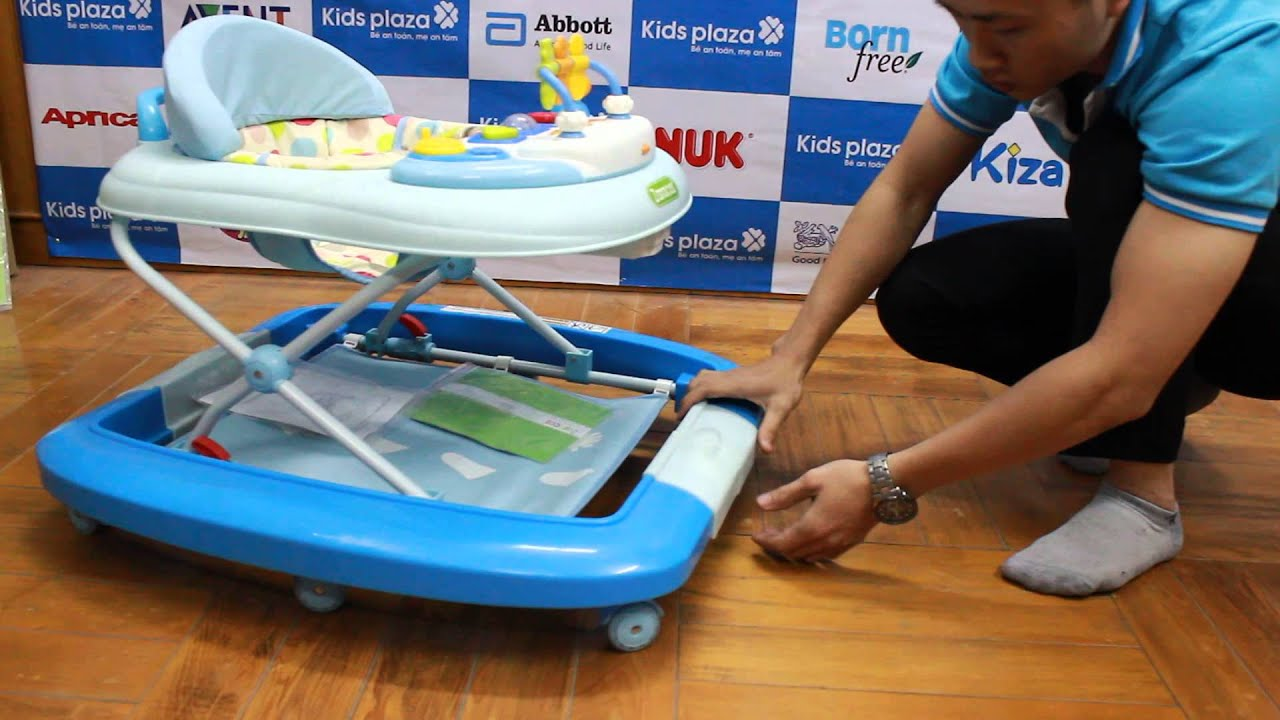 Xe tập đi cho bé Zaracos Mikki 111 – Kids Plaza