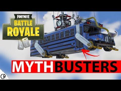 Mythbusters Fortnite Battle Royale - Epi 2 - Tips & Tricks