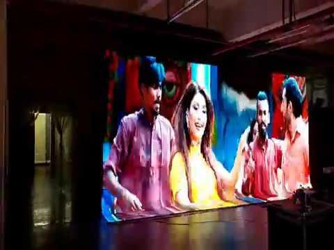 AKA Arman Tovmasyan & Samira With Flex LED Video Wall