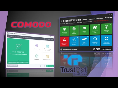 Тест Comodo Internet Security Premium 10 & TrustPort Interne