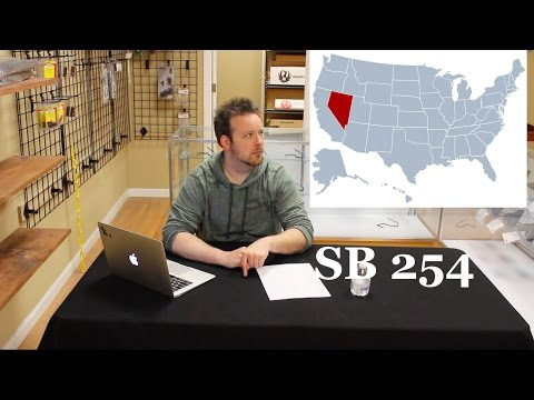 Counter Talk 4: Nevada SB254 - Bill to Harm the NV Stand Your Ground Laws