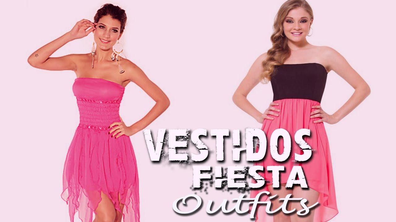 Outfits - Vestidos De Noche Fiesta y Gala Mujer - YouTube