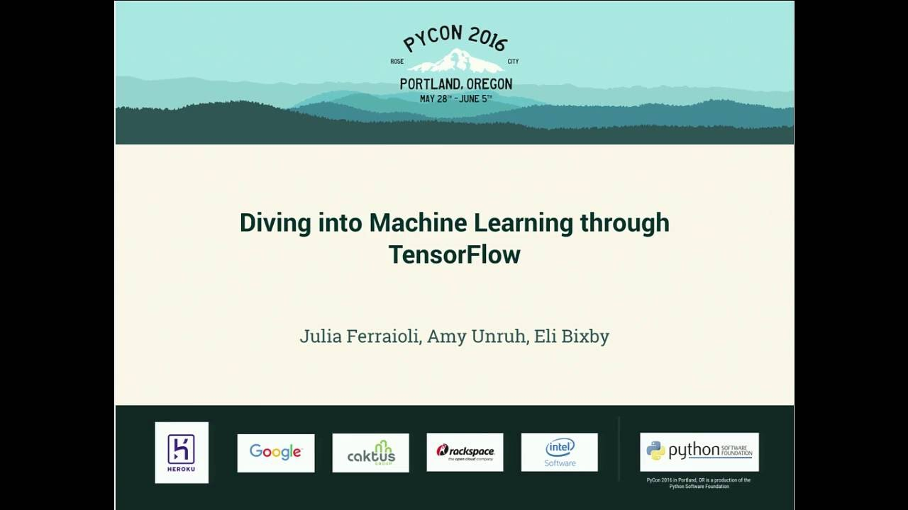 Image from Diving into Machine Learning through TensorFlow