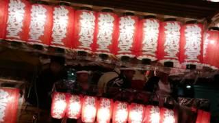 平成28年度貝塚南近義地区だんじり祭・地蔵堂町