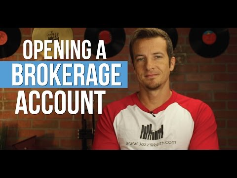 How to open a brokerage account for beginners.