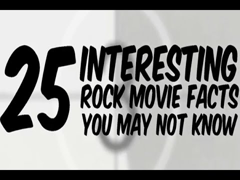 25 Interesting Rock Movie Facts