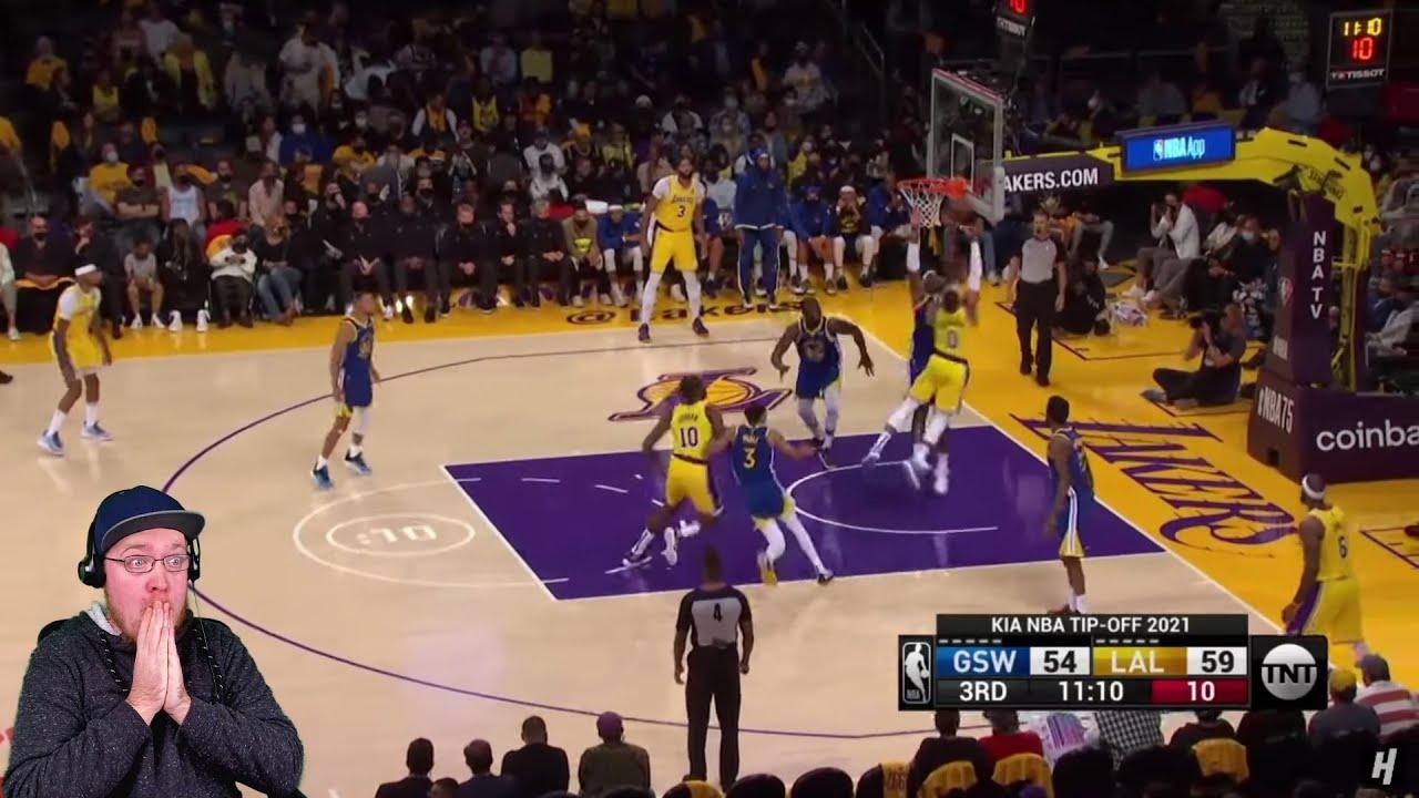 WESTBROOK BAD DEBUT! Reacting to Golden State Warriors vs LA Lakers | 2021 NBA Season