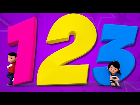 Numbers Song  Learn Numbers  Counting Numbers  123 Nursery Rhyme  Ba Songs  kids tv