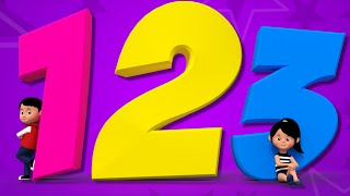 Numbers Song | Learn Numbers | Counting Numbers | 123 Nursery Rhyme | Baby Songs | kids tv