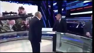 Жириновский устроил дебош в прямом эфире