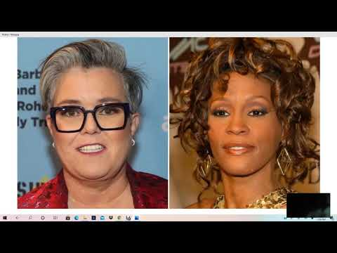Rosie O'Donnell Blames BLK Community For Whitney Issues