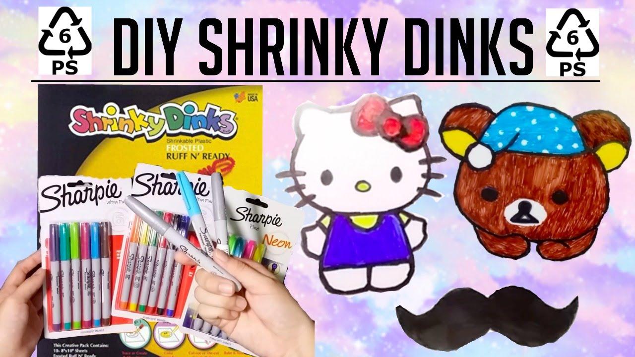 Diy Shrinky Dinks Dream Lab Series Youtube