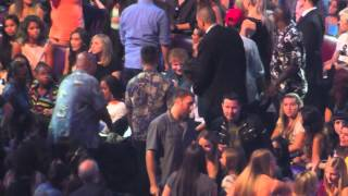 Harry Styles, Zayn Malik, Ed Sheeran + Little Mix Backstage at the Teen Choice Awards 2013