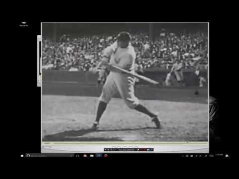 Babe Ruth Ted Williams swing analysis by Hitterish