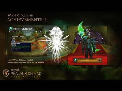 achievement hero of shattrath gained exalted status with the rh youtube com Scryer Mount Scryers Reputation Guide