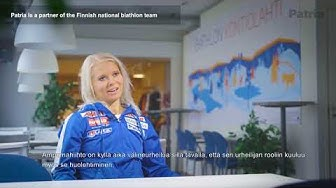 Patria jatkaa yhteistyötä Suomen Ampumahiihtoliiton kanssa