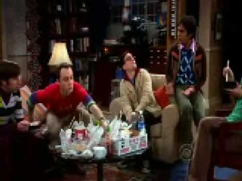 "The Big Bang Theory - "" Suddenly I am looking pretty good ah??? """