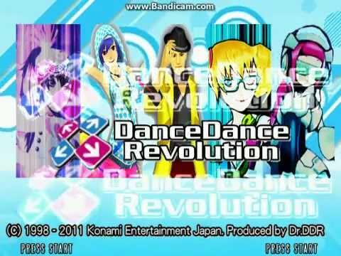 "[StepMania 3.9+ Redux] ""DanceDanceRevolution"" - Intro Screens"