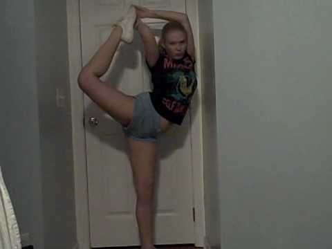 cheerleading stretches   youtube