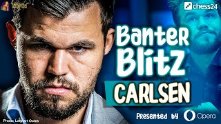 Banter Blitz with Magnus Carlsen