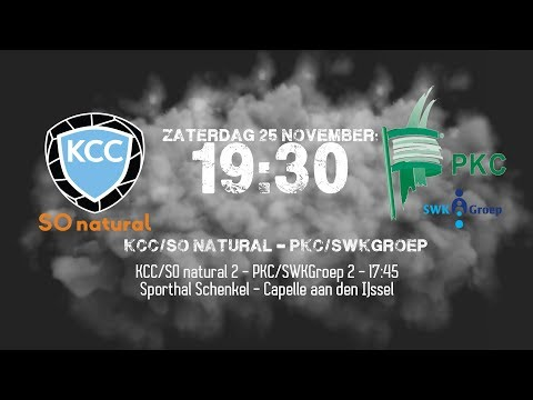 KCC/SO natural - PKC/SWKGroep - Zaterdag 25 November
