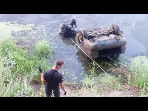 Телеканал Новий Чернігів: Затонула автівка | Телеканал Новий Чернігів