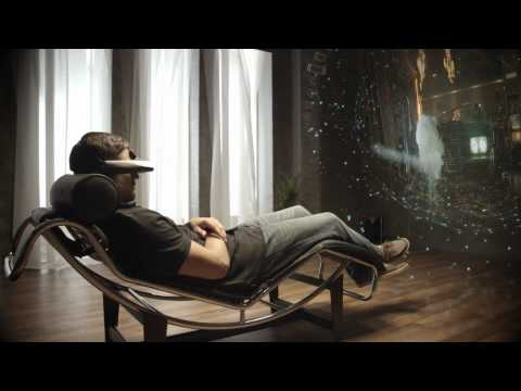 "HD OLED Head Mounted Display ""Personal 3D Viewer""「HMZ-T1」"