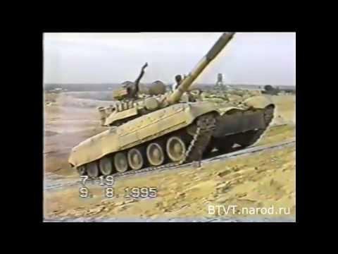Испытания Т-80УД в Пакистане