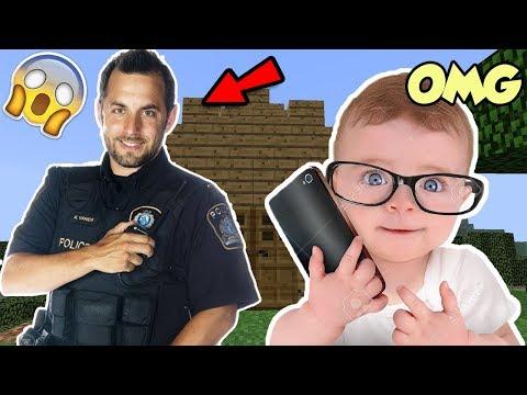 JE TROLL UN KIKOO ET IL APPELLE LA POLICE !! SA MÈRE DÉBARQUE ET LE TAPE ET PLEURE ! TROLL MINECRAFT